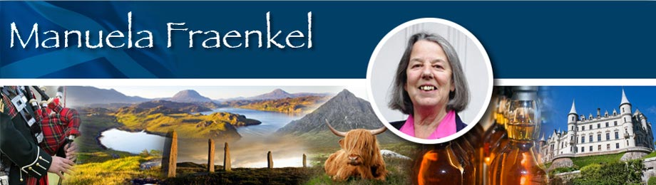 I am Manuela Fraenkel, a Scottish Tour Guide offering personalised, exciting and interesting tours of Scotland.